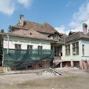 Itt tart a Haberstumpf-villa felújítása