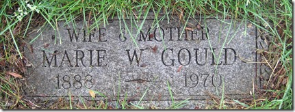 GOULD_Marie Lindsay headstone_cropped_GrandLawnCemetery_DetroitMich