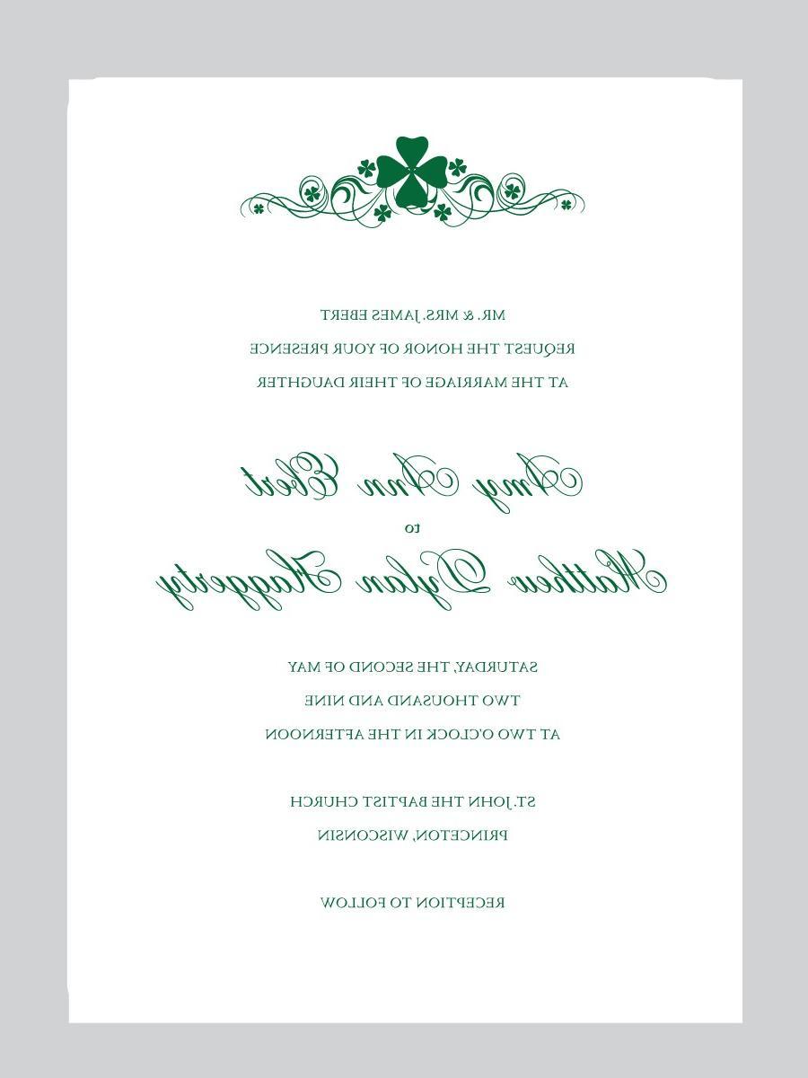 FIONA - IRISH Wedding