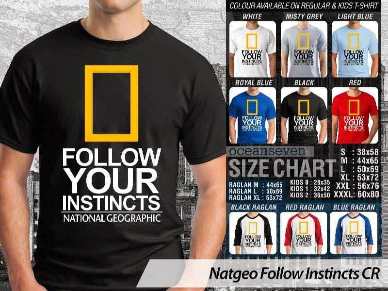 Kaos National Geographic NatGeo Follow Instincts distro ocean seven