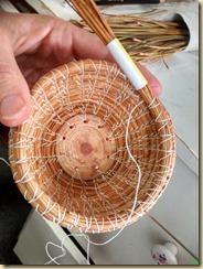 Pine Needle Basket #2