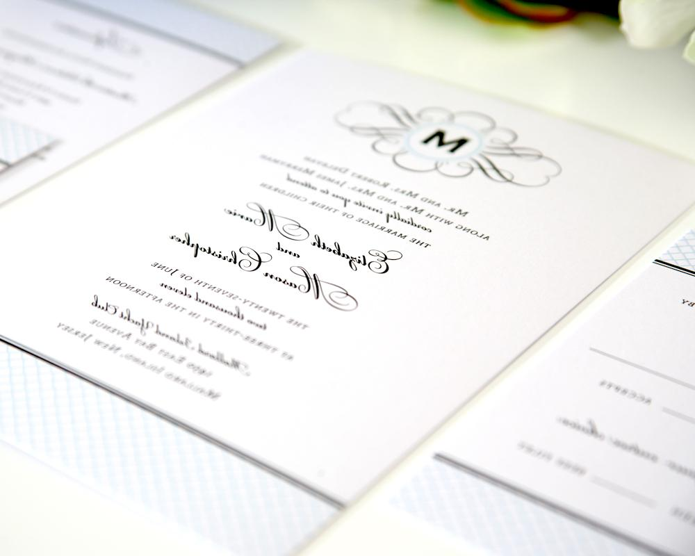Elegance Monogram Wedding