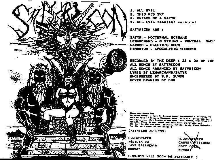 Satyricon - All Evil (Demo 1992)