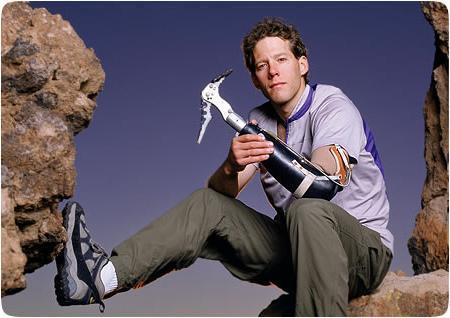 Adventurer Aron Ralston