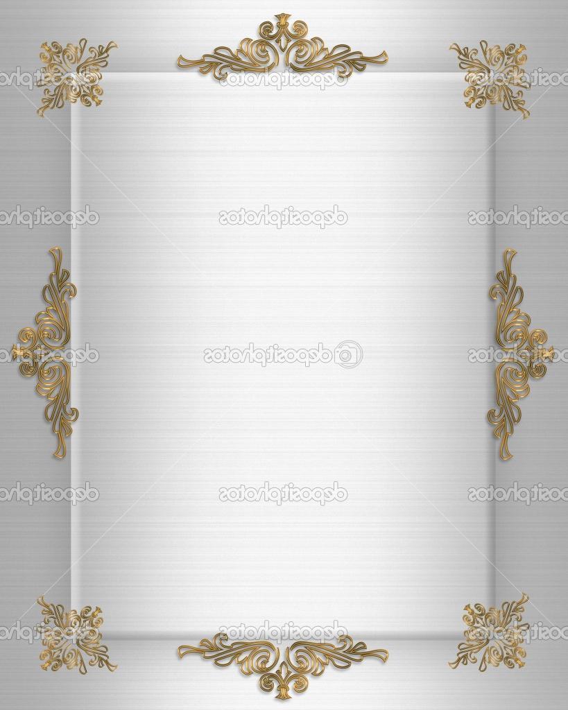 Gold design elements on