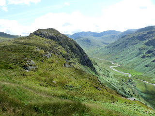 Sergeants Crag from near Eagle Crag.