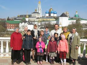 В гости к преподобному Сергию Радонежскому