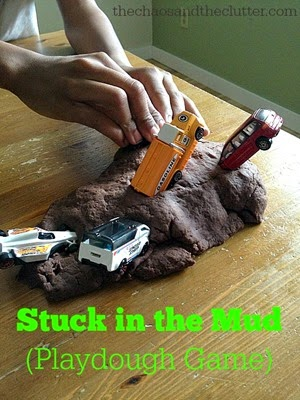 Stuck-in-the-Mud-Playdough-Game