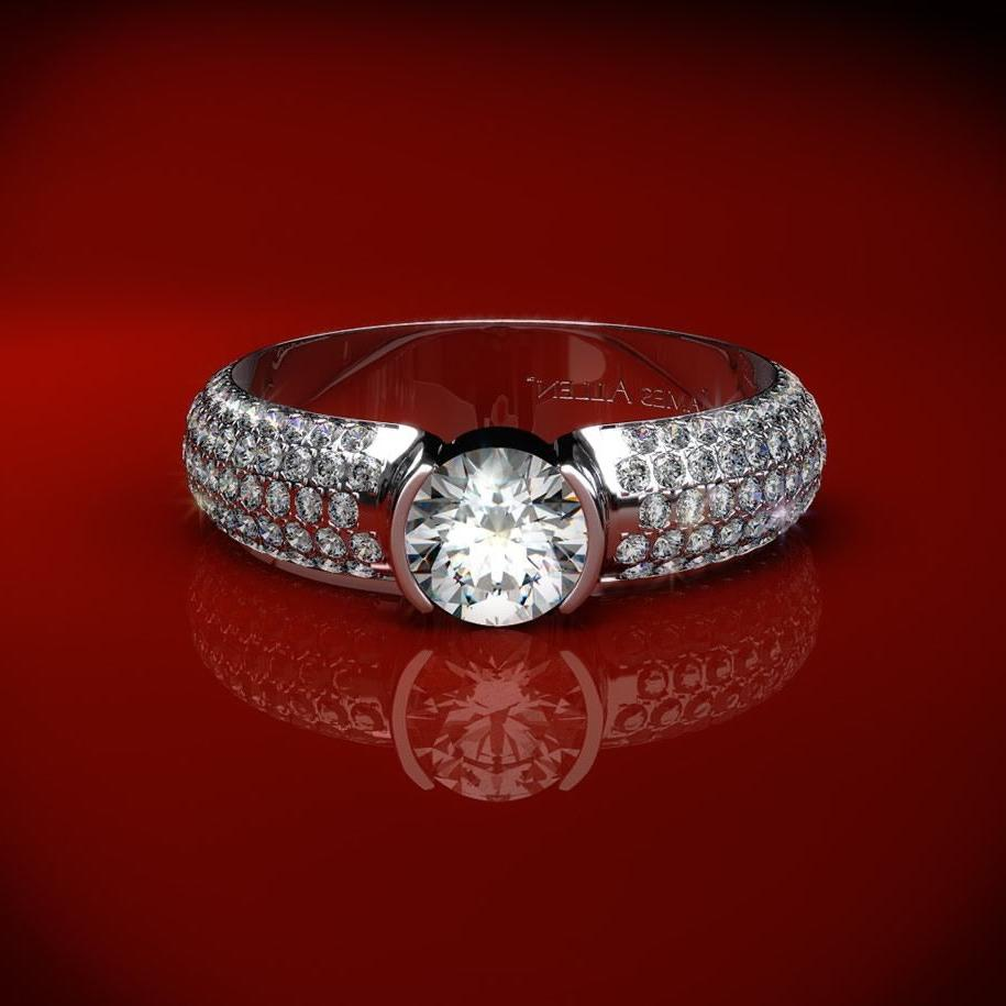 Unique Diamond Ring with