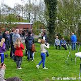 Koningsspelen 2015 bij buurtvereniging Rondom 't Veloat - Foto's Harry Wolterman