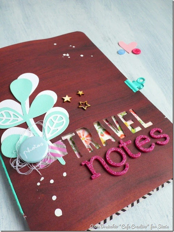 sizzix big shot plus - scrapbooking - mini album - travel journal - by Anna Drai - cafecreativo (6)