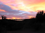 train trestle sunset 12/8