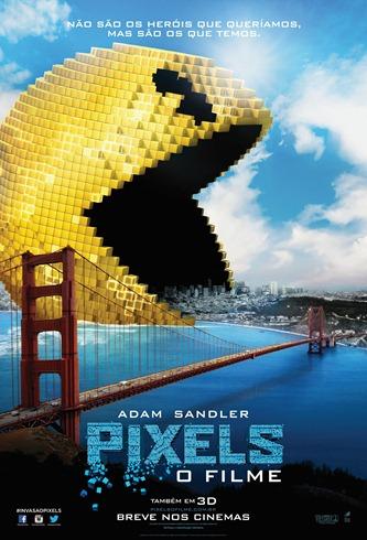 Pixels - O Filme - Poster nacional