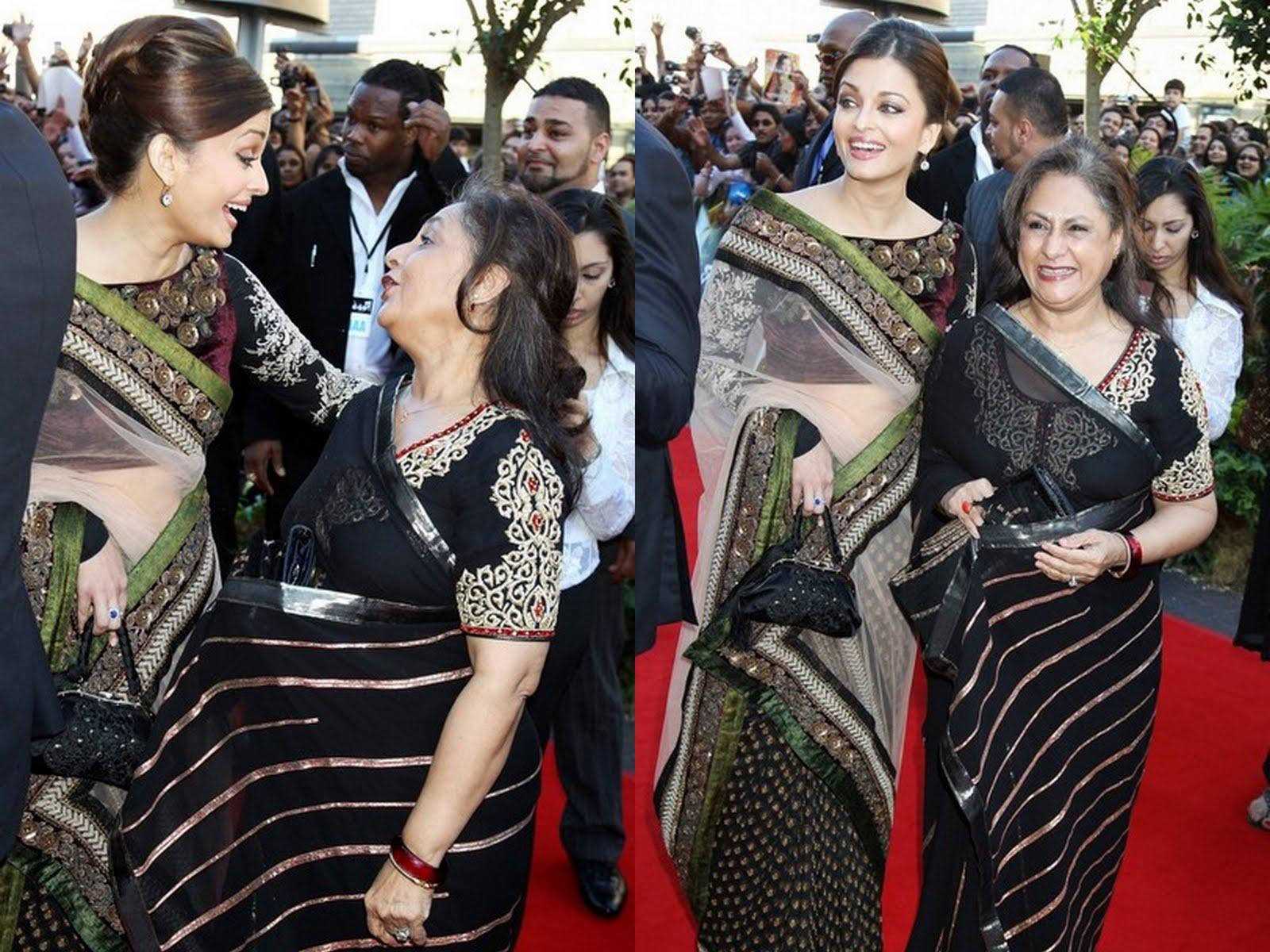 aishwarya rai wedding saree