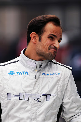 Витантонио Льюцци с забавной гримасой на Гран-при Кореи 2011