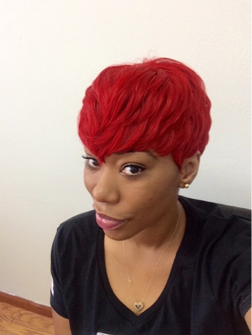 Red Hair Quick Weave Tutorial Chimere Nicole