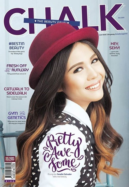 Janella Salvador for Chalk Oct. 2015