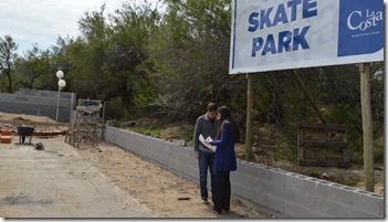 Avanza la obra del skate park de Santa Teresitajpg
