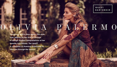 Olivia Palermo Jewelry Collection for BaubleBar Fall 2015