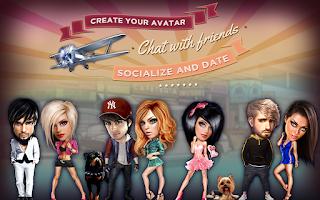 Screenshot of Galaxy - Chat & Play