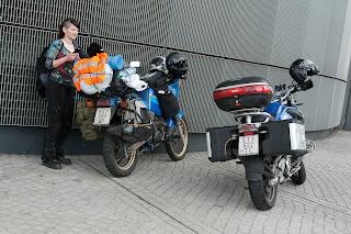 Koja slučajnost, 2 motora s HR tablicama u sred Dresdena