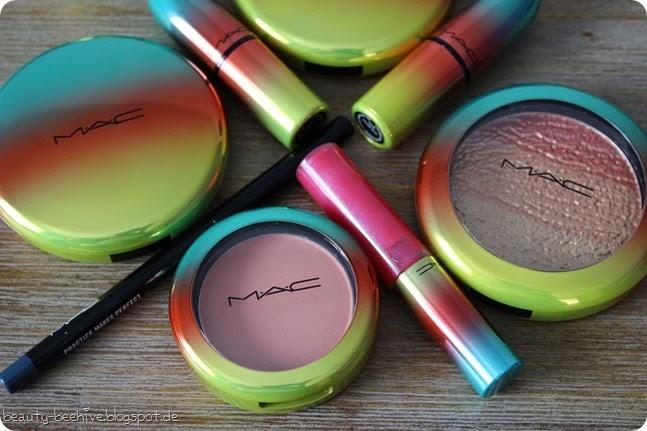 MAC Wash and & Dry LE Limited Edition Kollektion Haul Einkauf Swatch Swatches Studio Sculpt Bronzer Delicates Golden Rinse Lipstick Lippenstift Steam Heat Tumble Dry Blush Hipness Crisp Whites Highlighter1