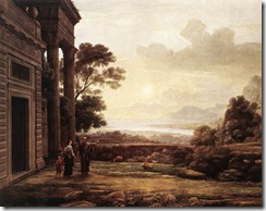 Claude_Lorrain_-_Port_Scene_with_the_Villa_Medici_-_WGA04978 (1)
