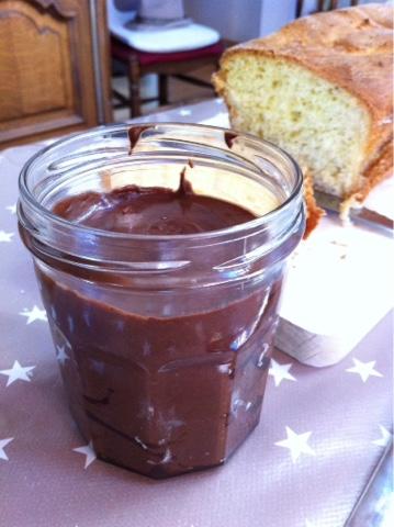 Chocolat à tartiner fait maison recette