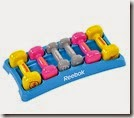 Reebok dumbell set