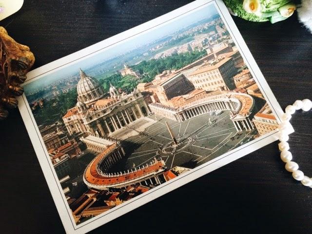 Сколько идет открытка из ватикана в россию 87