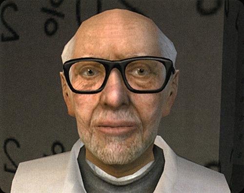 Half-Life  Dr. Isaac Kleiner