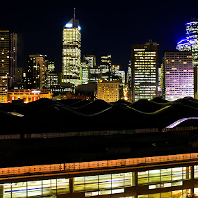 Melbourne. Australia by Lynton Brown - City,  Street & Park  Vistas