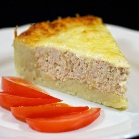 Potato Gratin With Minced Turkey