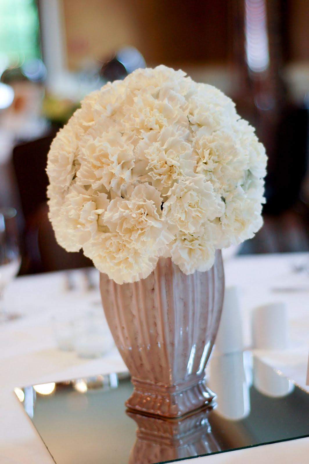 White Carnation Wedding