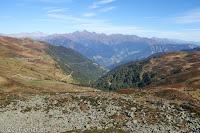 Kurz nach der Scheitelhöhe des Penser Joch (2211m). Runter nach Sterzing.