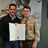 Eagle Scout Declan Cunningham: Brewster