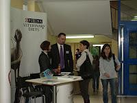 Stoisko firmy Nestle PURINA - sponsora strategicznego cyklu Szkoleń VetBiznes