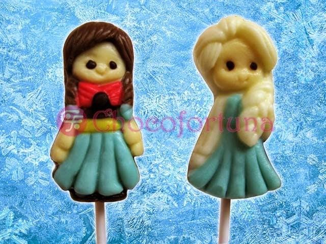 Cokelat coklat Lolipop Disney Frozen Princess Elsa Anna