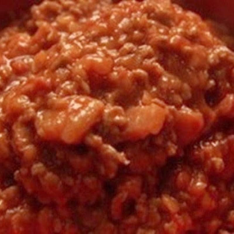 Pentolaccia di ragù, un secondo piatto di carne davvero squisito.