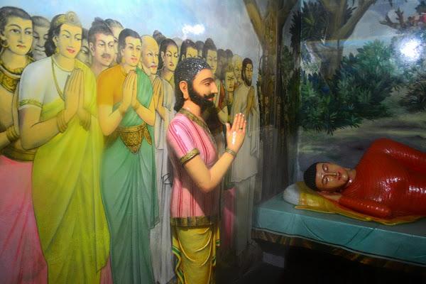 Сцена из жизни Будды