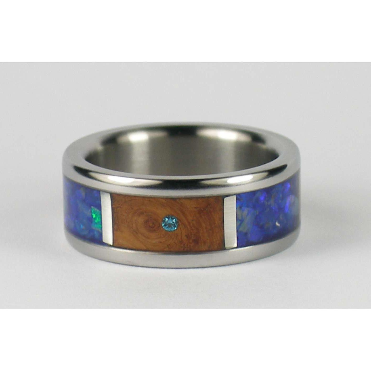 Hawaii Titanium Rings Orbits