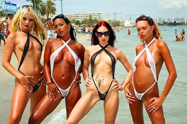 самые откровенные микро бикини фото