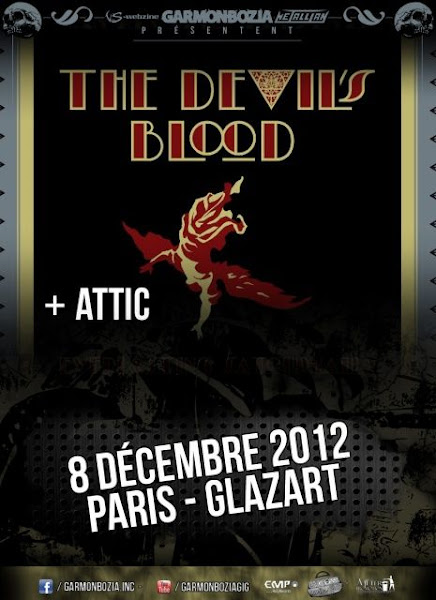 The Devil's Blood / Attic @ Glaz'Art, Paris 08/12/2012