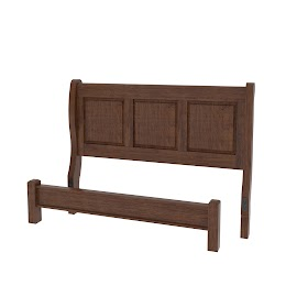 Complementary Style,Classic Platform Bed