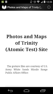 Photo and Map of Trinity Site - screenshot