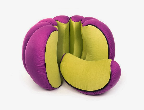Mandarin Pouf Seen On www.coolpicturegallery.us
