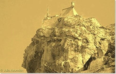 El Castillo de Alicante - La cara del Moro