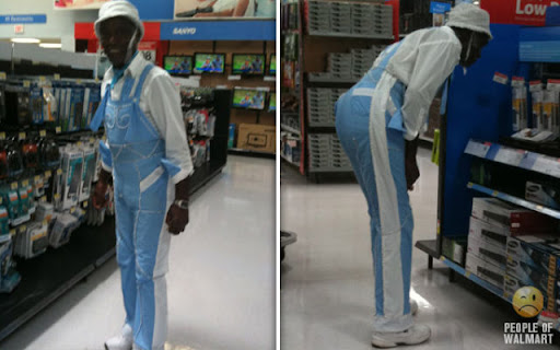 Coisas que você só vê... no Wal-Mart - Parte 10