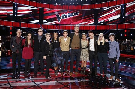 The Voice USA Top 11