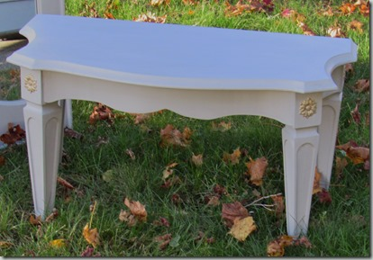 Trumeau bench AFT 3